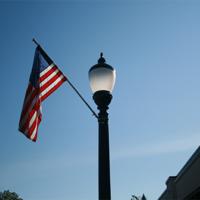 Lexington 1 & Flagpole Holder